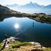 Waterline au Lac des Chéserys - Alix Bruel & Masami Tsuda © Damien Deschamps by deschdam6@gmail.com