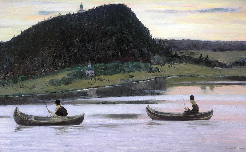 RRR - 0306 -- Nesterov Mihail - Молчание, 1903, 71x116 cm