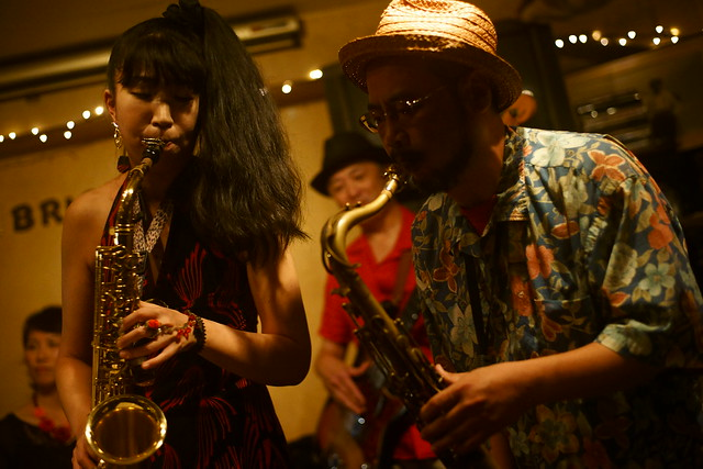 Blues live at Bright Brown, Tokyo, 16 Aug 2015. 112