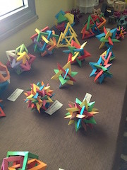 a.s. 2012 2013 Mostra Origami