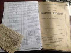 Auchentibber School Register