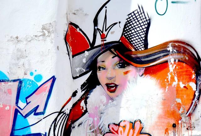 Fresque murale, street art - Festival Remp'arts Azemmour.