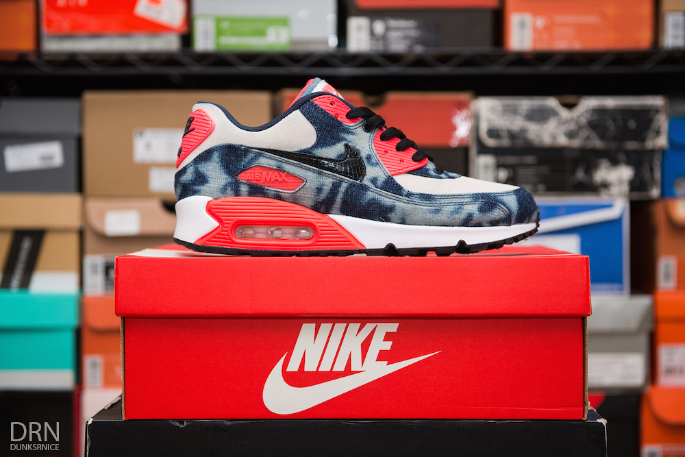Infrared Denim Wash AM90's.
