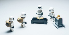 Lego Starwars Troopers - Imperial Cashew Incident
