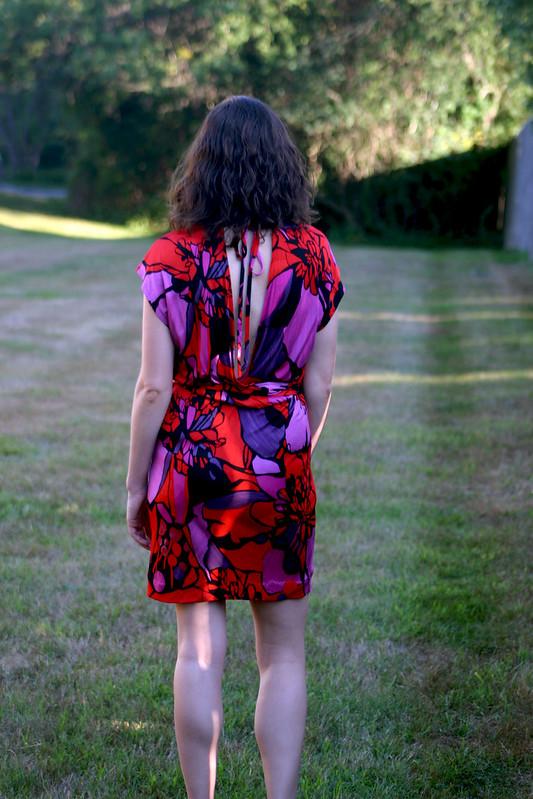 silk tieback dress 3