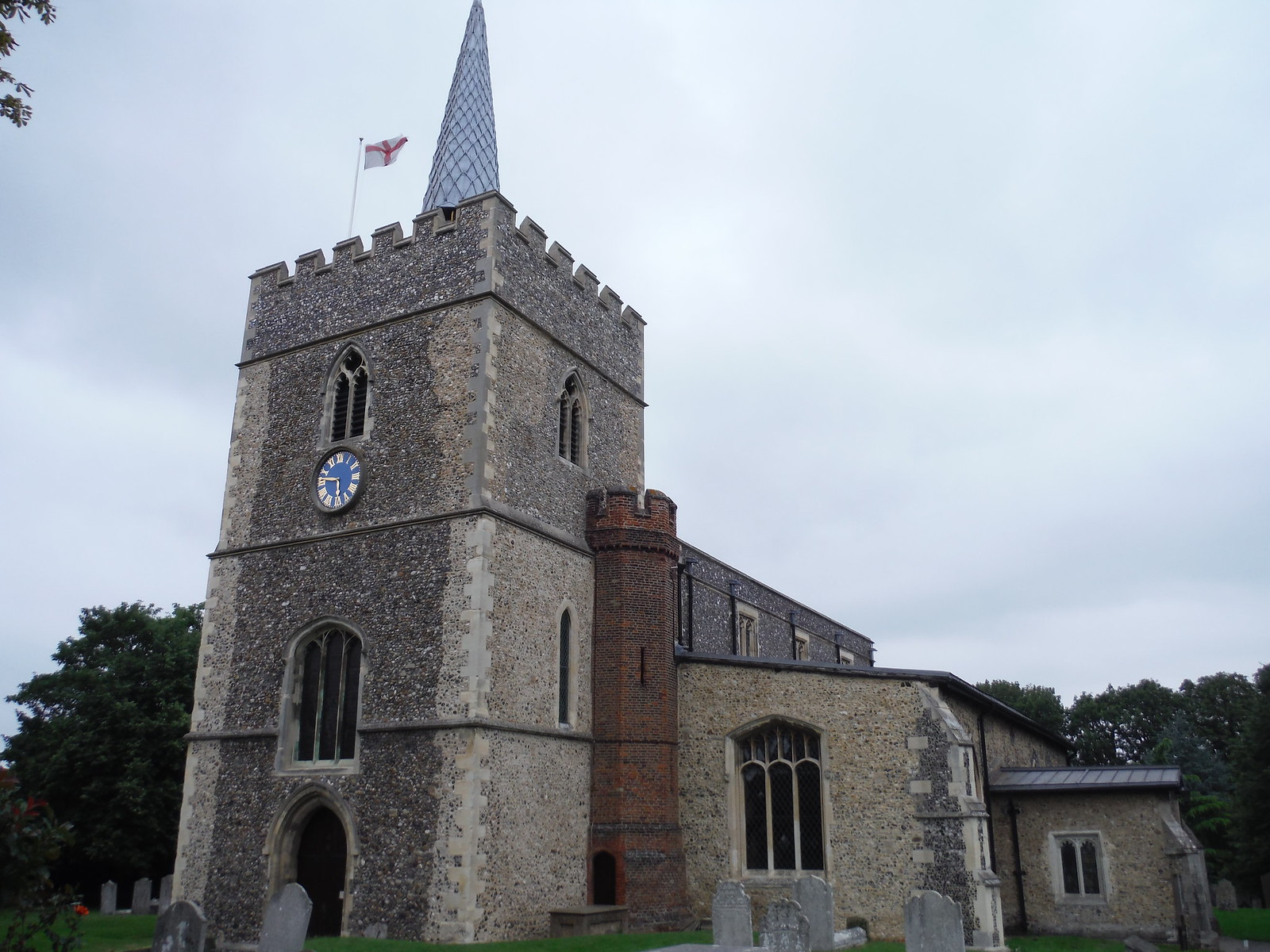 Great St. Mary's Church, Sawbridgeworth SWC Walk 164 Roydon to Sawbridgeworth via Henry Moore Foundation