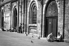 Eveleigh Markets - B&W