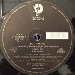 BEANIE SIGEL AND FREEWAY:ROC THE MIC(LABEL SIDE-A)
