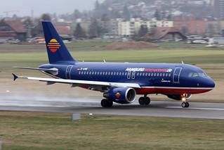 "Hamburg International Airbus A319-112 D-AHIK "" 10 years special livery """