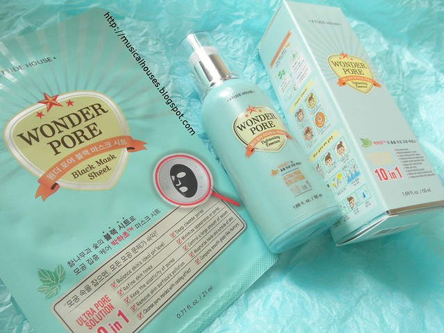 Etude House Wonder Pore Tightening Essence Black Mask 2