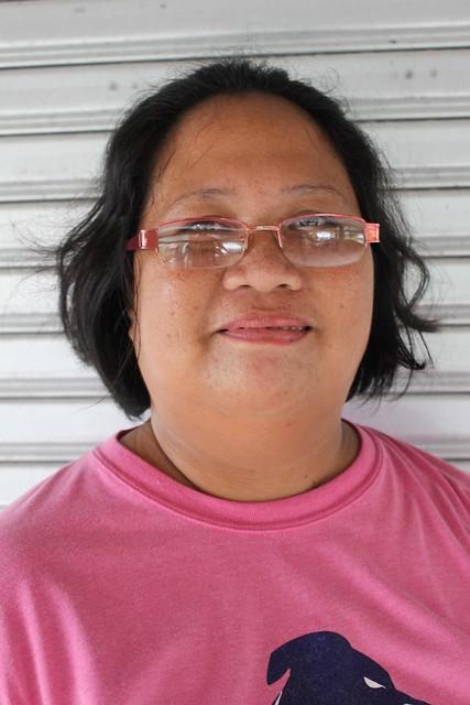 Local engineering staff Delia Tenebro