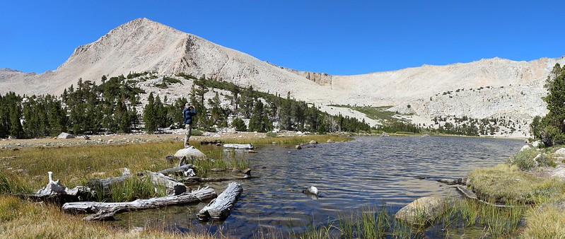 Cirque Peak, Long Lake, and New Army Pass