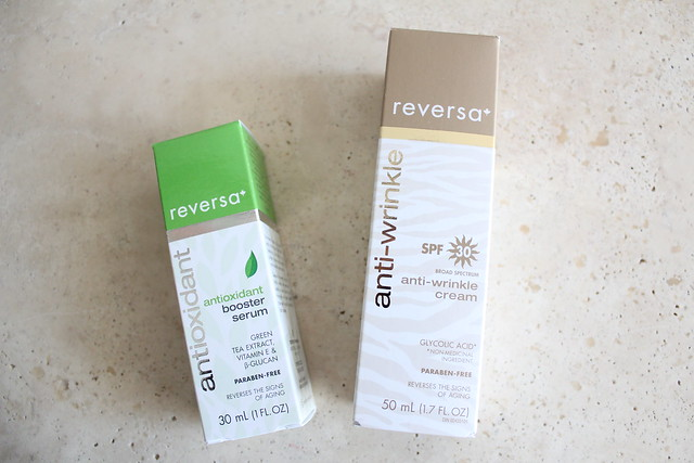 Reversa Anti-Wrinkle Cream SPF 30 and Antioxidant Booster Serum review