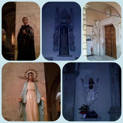 #santi #madonne #cristo #portonedingresso #basilicasancesidio #trasacco #marsica
