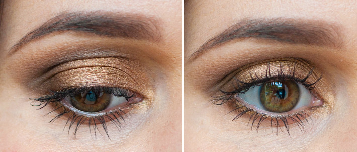 Naked palette make up look using Half Baked, Smog, Buck and Darkhorse