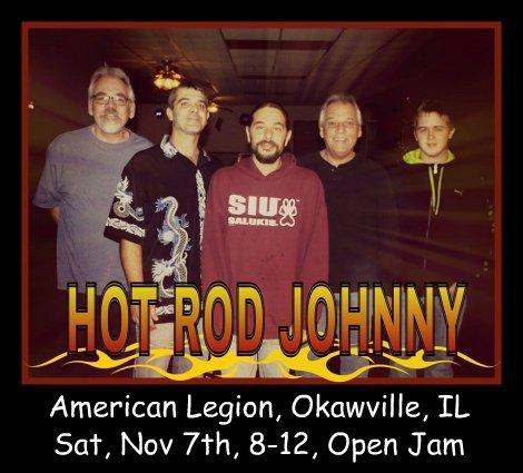 Hot Rod Johnny 11-7-15
