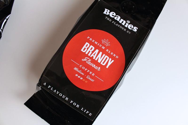 beanies, premiumblend, brandy, coffee, beaniestheflavourco,