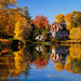 Ell Pond Autumn by RobertCross1 (off and on)