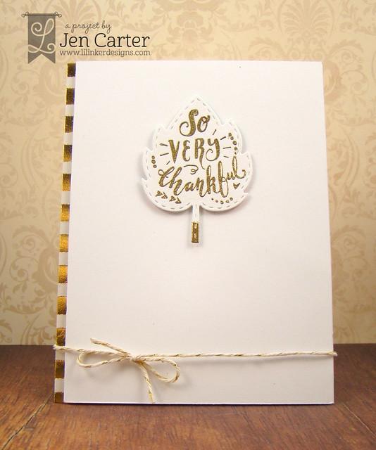 Jen Carter So Thankful Gold White 3 wm