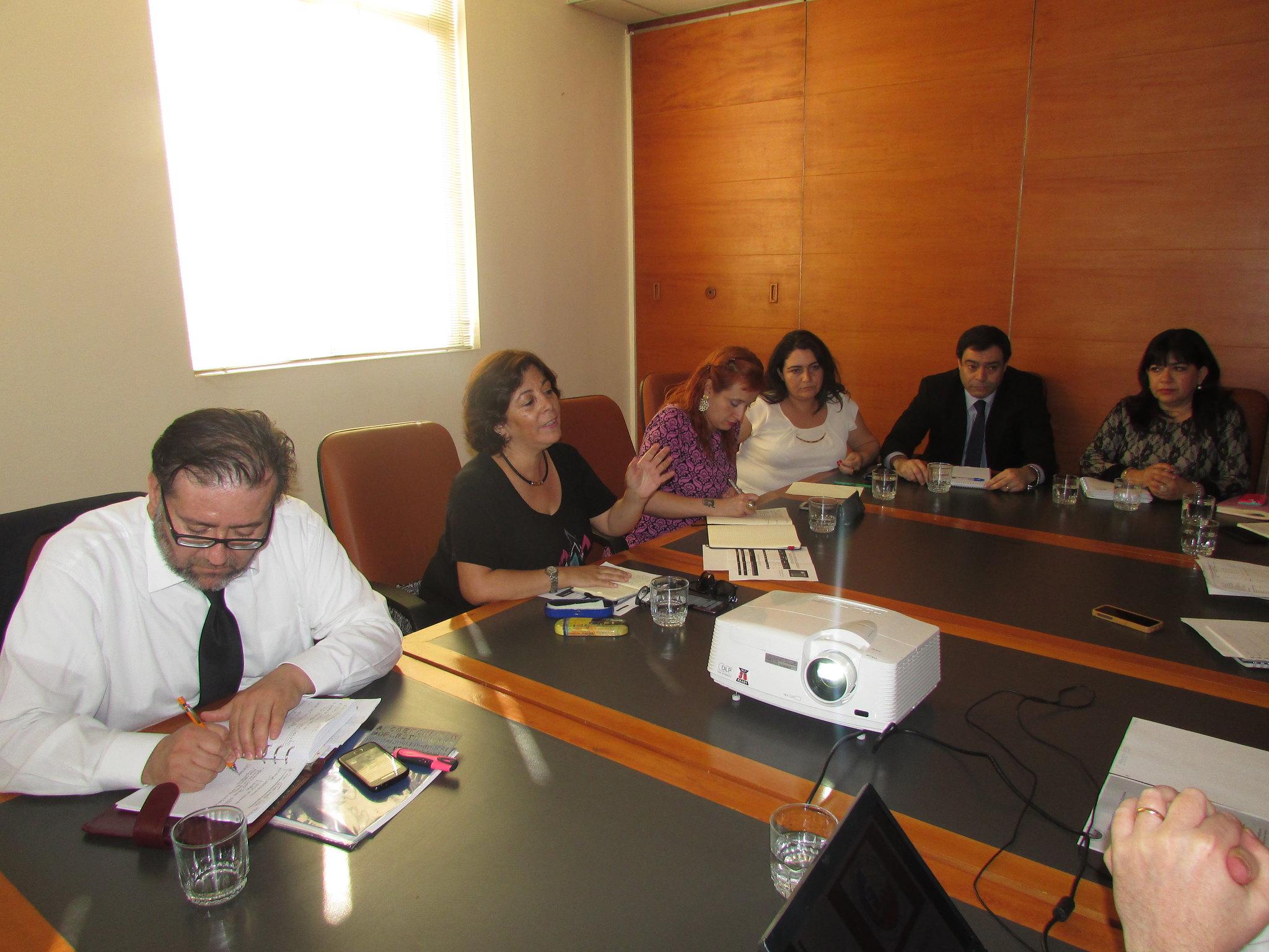 Directorio del FTH participa en Tercera Mesa de Trabajo con Hacienda - 30 Sept. 2015