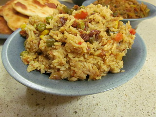 Indian Buffet Trio: Vegetable Biryani