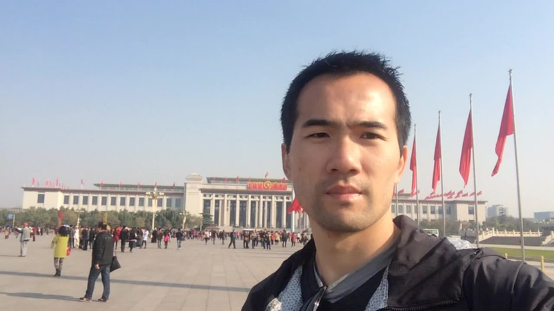 Tiananmen Square was really big.