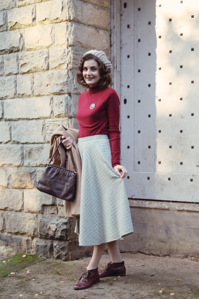autumn vintage outfit via lovebirds vintage