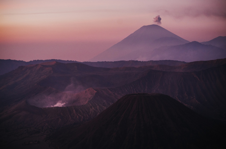 indonezja wulkan bromo