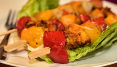 Moroccan Chicken Skewers