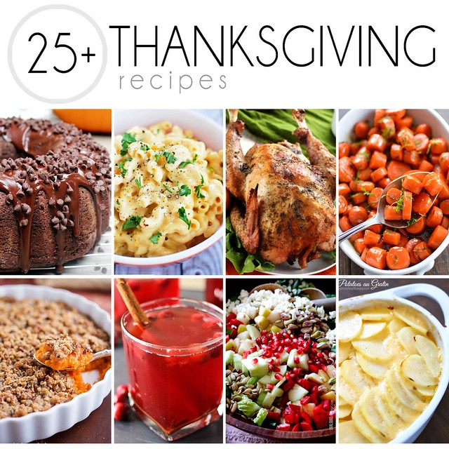 25+ Thanksgiving Recipes!