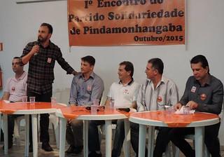 Ato de filiação do vice-prefeito de Pindamonhangaba, Dr. Isael Domingues