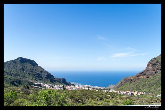 Tenerife Santiago del Teide acantilados los Gigantes Vilaflor - Tamaimo