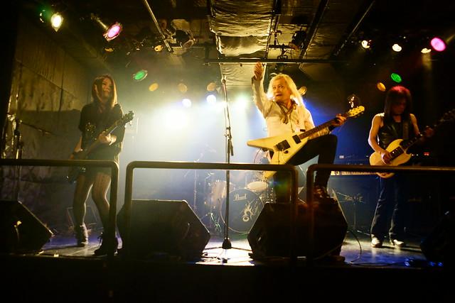 Bubble No.7 live at Outbreak, Tokyo, 12 Nov 2015. 022v
