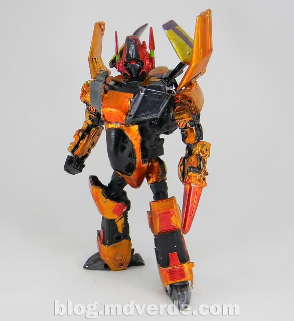 Transformers Decepticon X Voyager - Custom - modo robot