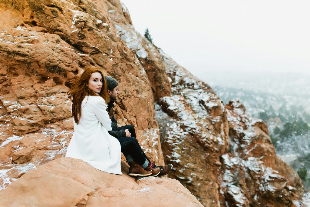 Colorado Garden of the Gods Engagement Session