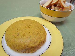 Carrot Cashew Pate