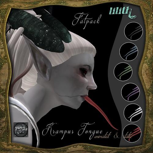 LD Krampus Tongue Fatpack TTS
