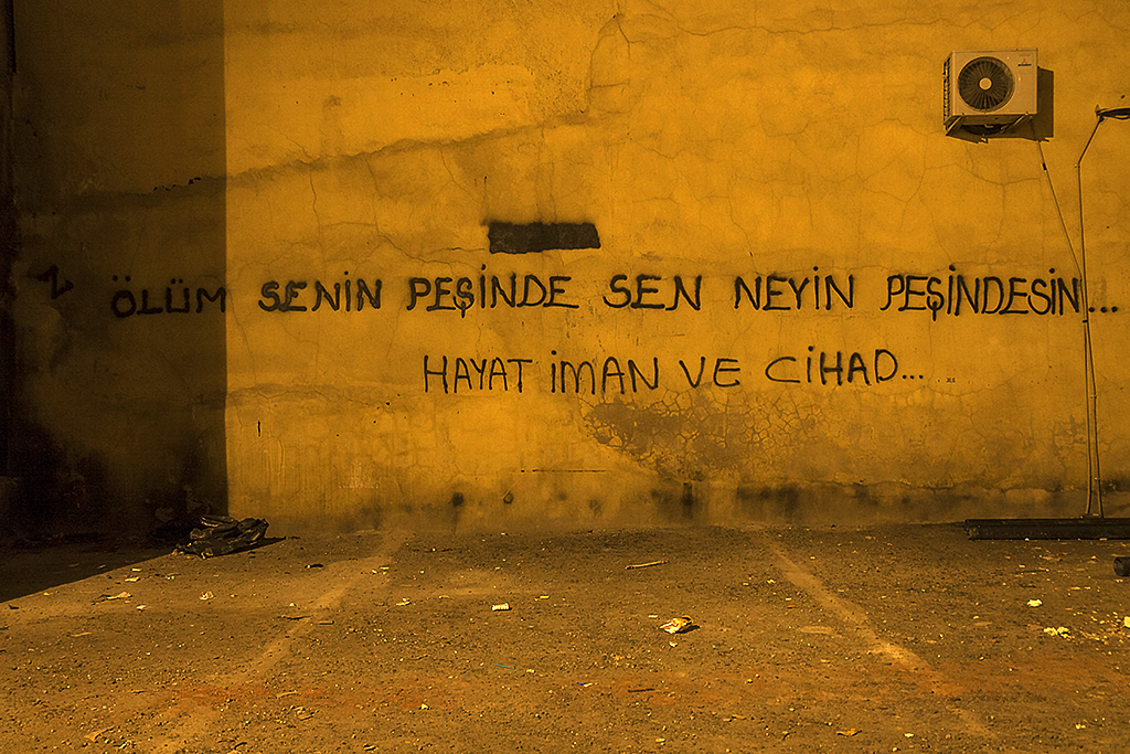 DEATH IS AFTER YOU WHAT ARE YOU GONNA DO--Istanbul