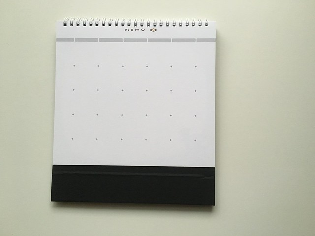 空白的記事頁@輔大猴fjumonkey桌曆(2016)