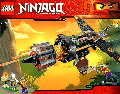LEGO Ninjago 70747 Boulder Blaster ins01