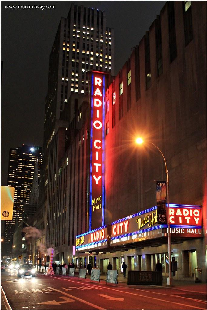 Radio City Music Hall, a Midtown Manhattan