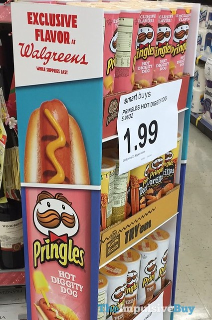 Spotted On Shelves Hot Diggity Dog Pringles Walgreens