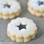 Gluten free black cherry linzer cookies recipe