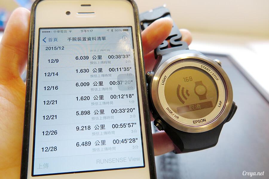 2015.12.30▐ 跑腿小妞▐ EPSON RUNSENSE SF-810 與 NIKE+ RUNNING 數據同步一家親 04.jpg