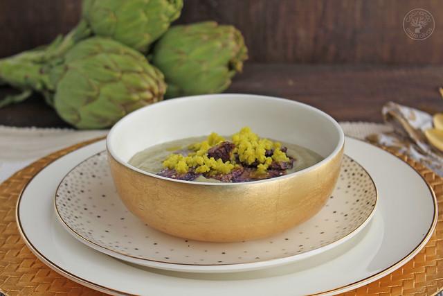 Crema de alcachofa granizado aove www.cocinandoentreolivos.com (23)
