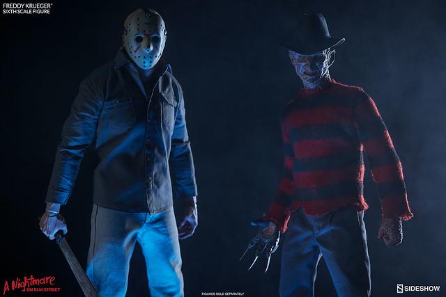 夢魘再度降臨!Sideshow - 《半夜鬼上床》1/6 比例佛萊迪·庫格 A Nightmare on Elm Street Freddy Krueger