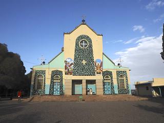 Imageof Saint Michael's Church. eritrea asmara africa youngpioneertours orthodox church orthodoxchurch