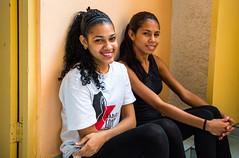 Habana Compás Dancers resting