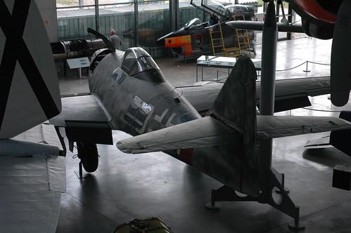 Messerschmitt Me-262A-1a at the Deutsches Museum Flugwerft Schleißheim