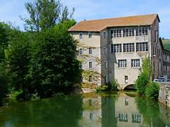 Le Mas d'Azil.Le moulin.